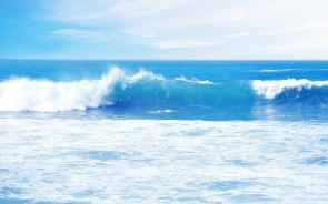 Blue Ocean Waves Wallpapers Pictures Photos Images